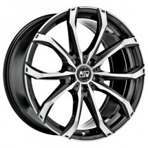 MSW 5X118 17X7.5 ET42 MSW 48 Black Full Polished 71,1