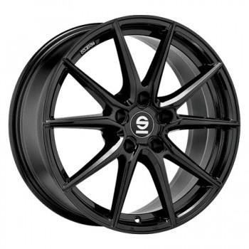 Sparco 5X120 18X8 ET29 SPARCO DRS Gloss Black 72,6